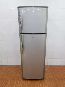 LG 290ltrs wit tuffen glasses double door refrigerator, free shipping