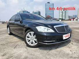 Mercedes Benz S350 L CGI 2014 NIK 2013 (W221)  Black on Beige Km4rb