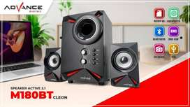 Speaker aktif bluetooth ADVANCE new 100% bergaransi