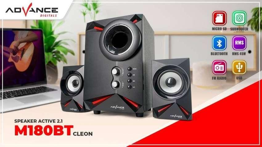 Speaker aktif bluetooth ADVANCE new 100% bergaransi