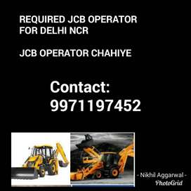 JCB operator chahiye Good salary