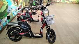 Sepeda listrik selis tipe mandalika, skutik elektrik