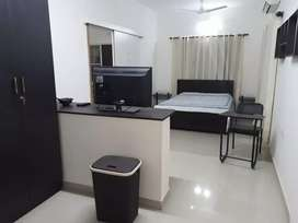 1 BHK - Fully  Furnished house for working  Bachelor