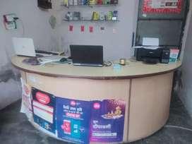 Shop counter 8 feet