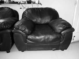 Single seater cushion sofa - set of 2