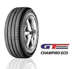 Murah, ban mobil baru ukuran 185/70-13 gt radial champiro eco