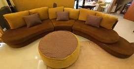 5 seater Sofa + Center table