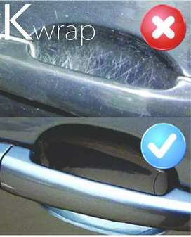 Car door handle paint protection film Kwrap