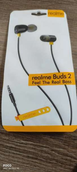 Realme buds2 its New its not a second hand product with home delivery.