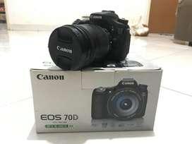 Kamera DSLR Canon EOS 70D (W) Second mulusss