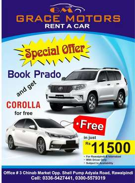 Rent a car Islamabad/rawalpindi