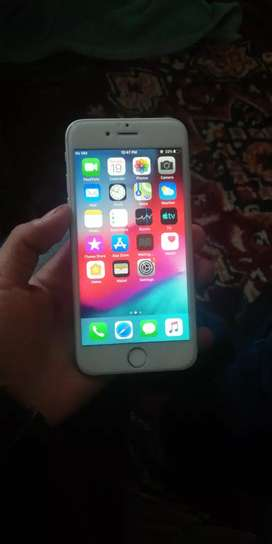 Iphone 6 zero condition just finger off 16gb condition bilkul zero