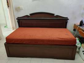 Solid Wood Sofa cum Bed