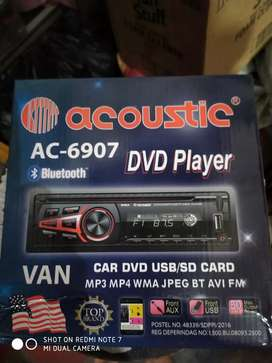 Tape singledisc dvd usb bluetooth  acoustic ( Megah top )
