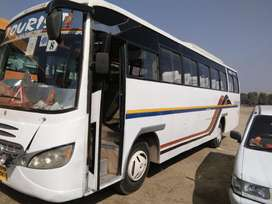 CNG BUS 2X2 43 Seater MAHARAJA PUSH BACK2011-12 MODEL Great condition