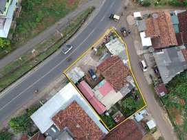 Tanah Hook Pinggir Jalan Lintas Sumatra Bukit Kemuning, Lampung Utara