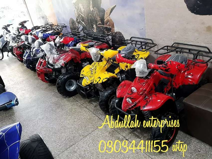 Sports quad full variety atv 4 wheels delivery all pakistan