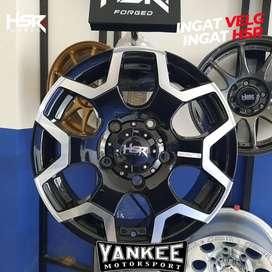 Velg Mobil Feroza Ring 16 Model SCHEME HSR Lebar 5,5