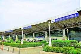Hiring For 10&12th/Graduate Fresher at Madurai Airport