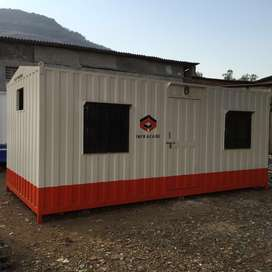 Portable office cabin manufacturer and supplier of storage container