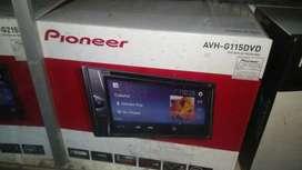 Double din Pioneer AVH-G115DVD murah aja # HD Audio Jogja