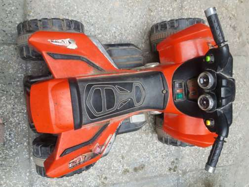 Kids battery operated car  appropriate for age under 8.