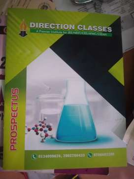 Urgently needed a Chemistry Teacher for Direction classes .