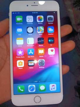 Iphone 6 plues 64 gb 10 monts old and 400 ₹ ka glass chada hua h