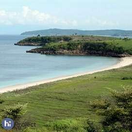 8,6 Hektar Tanah Pantai Pink Lombok timur T351