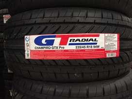 Promo Ban GT Radial 235/45 R18 Champiro GTX PRO