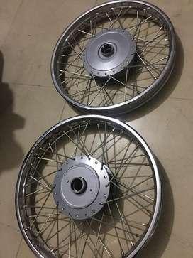 Bullet standard wheel