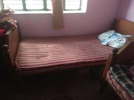 2 nos Single bed