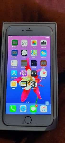 Iphone 6s plus 128.Gb rose gold