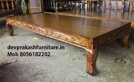 """New Teak wood Diwan cot 6' x 2' 6"""" for sale. Door delivery available."""