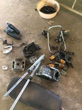 Rx100 spar parts