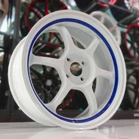 VELG ADVAN,17X7,H4X100: YARIS,FREED,BRIO,MOBILIO,JAZZ,VIOS,SWIFT