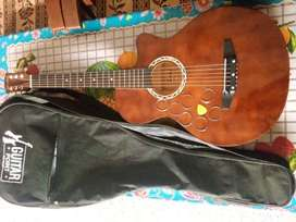 Guitar Brand: Cowboy, Model:3810, Body: Rose wood, Size: 38 inch