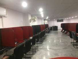 office for rent in commercial market, B Block, Newly renovated office