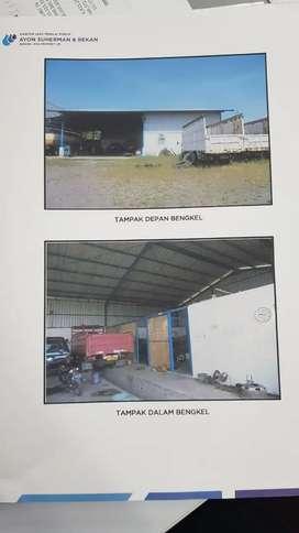 Dijual Tanah Dan Bangunan Pool Truk Jln Jasem Krembung, Ngoro Industri