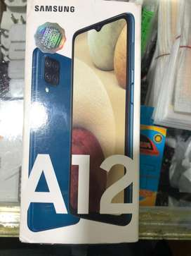 Samsung A12 4/128 brand new 2day used only