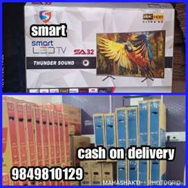 MAKE IN INDIA SMART ANDRIOD LEDTV 5 YEARS WARRANTY COD
