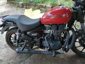 Thunderbird 350x red colour