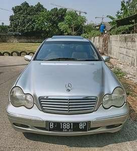 Mercedes benz C240 elegance A/T 2002