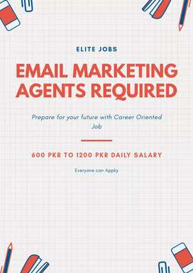 Email Marketing Agents Required For Online Work