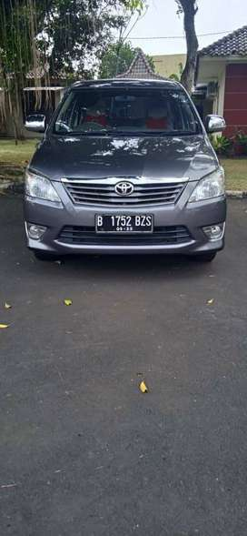 Toyota Kijang Grand Innova tipe E upgrade G th 2012
