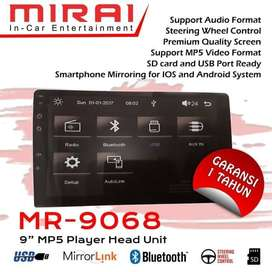 Headunit Mirai 9 Inch Mirroring Android   KIKIM Variasi