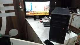 Dual core PC, 2gb ram, 256gb storage, LED HD screen under warranty