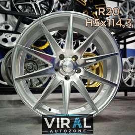 Velg Mobil Honda CRV bisa dicicil r20 HSR di toko Velg Mobil Aceh