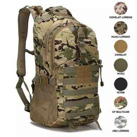 RANSEL BACKPACK ARMY TACTICAL 511 IMPORT