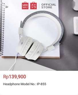 Headphone model JP 03 (white)